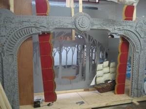 The Secret History of the Swedish Marionette Cottage - set in progress