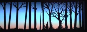 The Scarlet Ibis - Swamp trees